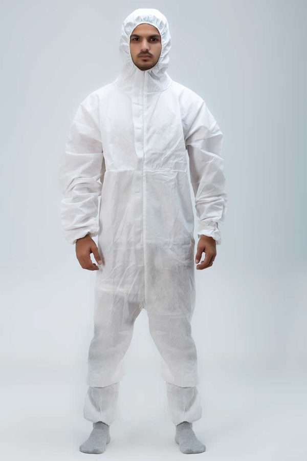 Coveralls-White Epitex UK