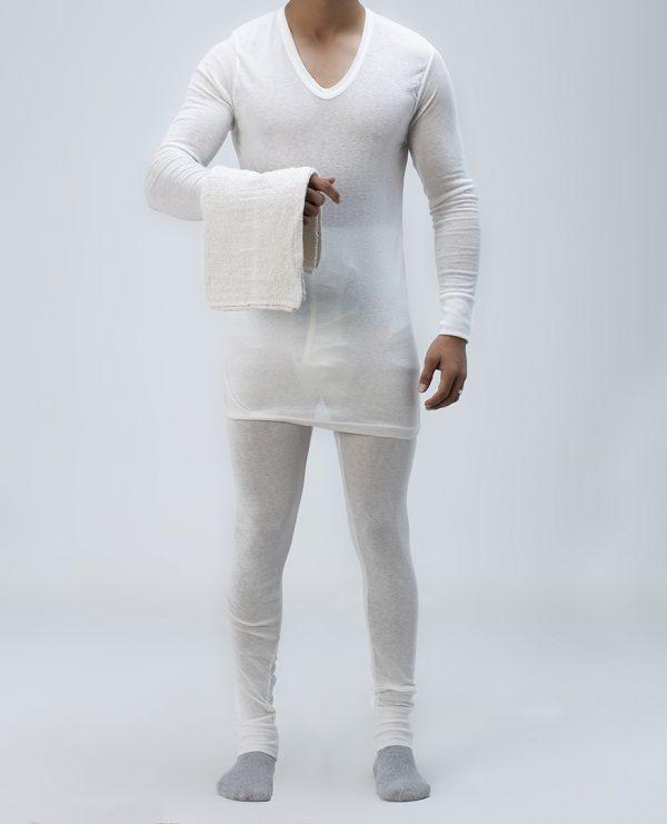 Cotton winter underwear set with towel Epitex UK