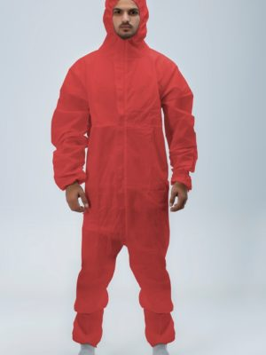 Coveralls-Red Epitex UK